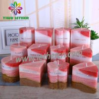 High Quality Factory Price Scented Pillar Candles Square Candles for Home Decoration SPA