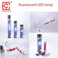 Portable multifunctional fluorescent lamp