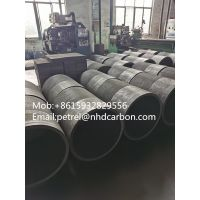 Round Graphite crucible for mineral energy refractory