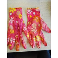 Flora Printed Nitrile coated Garden Gloves