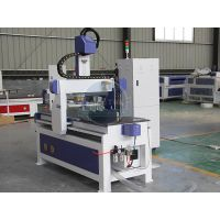 3D cnc wood work router carving machine with 4pc tool changer thumbnail image