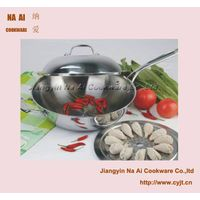 5 Ply Stainless Steel Chef Wok