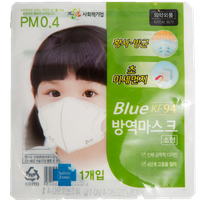 Ultra-light and high efficiency BLUE MASK (KF94) Large, Small thumbnail image