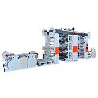 Two Side Six Color Roll to Roll Flexographic Printing Machine