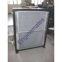 Radiator cum Oil Cooler for construction equipments.