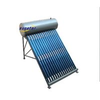 Non-pressurized integrated solar water heater with CE, Solar keymark