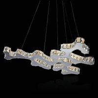 LED crystal pendant light wholesale