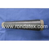 100% stainless steel fiber conductive metallic spun yarn