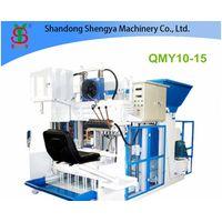 QMY10-15 Big production mobile hydralic concrete block making machine thumbnail image