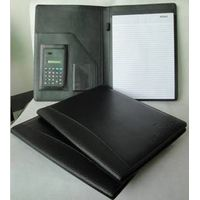 leather conference holder portfolio for office
