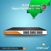 24 port 24v passive poe switch for UBNT wifi access points