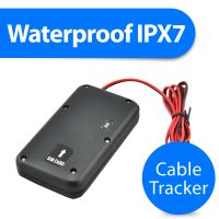 T5124 Cable waterproof micro gps tracker with free online software and bluetooth for vehicle
