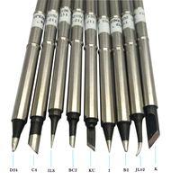 Super Quality Black T12 soldering iron tips for Hakko fx950 fx951 SMD rework soldering station