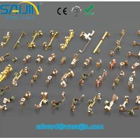 Ex-factory Terminal Plug fitting electrical contact stamping for socket outlets