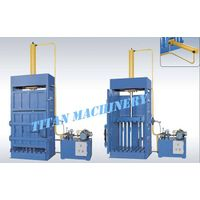 garbage compactor baler baling press machine