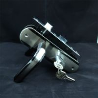 Causte Big handle aluminium mortise door lock sets
