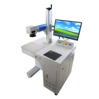 2021 hot fiber laser marking machine shell Raycus Source optional color laser printer portable metal thumbnail image