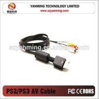 component 3RCA AV cable for Sony Playstation PS1 PS2 PS3