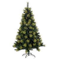 6ft hot sale golden pe needle artificial christmas tree
