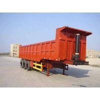 dump semi trailer supplier/tipper dump trailer for sale/tipper truck semi trailer