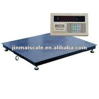 weighing machine by electronic plateform