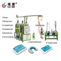 PU memory pillow injection foaming machine pu sponge and cushion molding machine thumbnail image