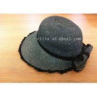 visor, paper braid visor