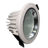 LED Downlight with 100 to 240V AC Input Voltages and 50/60Hz Frequency