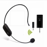 U9 UHF Wireless Teacher Headset Microphone and Receiver Set for Amplifier or Speakers thumbnail image