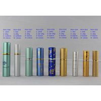 Atomizer Aluminum Glass Bottle for perfume
