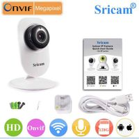 Sricam 720p Onvif Security Camera Kit Baby Camera Monitor p2p hd Mini Hidden USB Camera