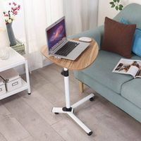 height adjustable recliner laptop table