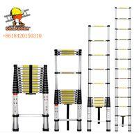 2.0m/2.6m/2.9m/3.2m/3.8m/4.1m/4.4m aluminium telescopic ladder thumbnail image