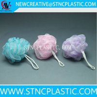 cheap colorful shower mesh sponge ball 20g thumbnail image