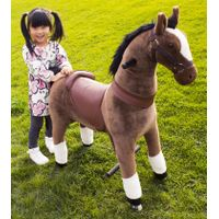 riding horse on wheels for kid and adult walking unicorn toy thumbnail image