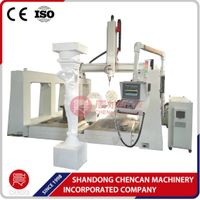 cnc machine center CNC Routers for 3d sculpture foam carving