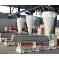 Plastic recycling Single screw extruder thumbnail image