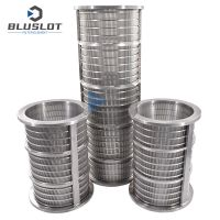 Wedge Wire Screen Filter Basket for Liquid and Solid Separator