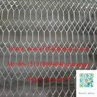 anping huijin gothic metal mesh for fencing / heavy duty diamond gothic mesh