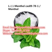 high quality L-(-)-Menthol / Menthol cas 89-78-1 powder