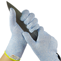 13 gauge Blue Speckled XP200/Stainless Steel liner long cuff gloves(Working Protection KMS-700CS) thumbnail image