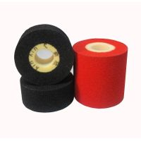 Black Dia 36*16 Hot ink roller to print Batch-number for food packaging bags