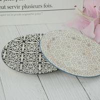 Round shape ceramic dinner plate thumbnail image