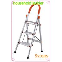 producing aluminum ladder with certificate folding step ladder