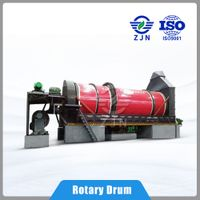 Low energy consumption Triple-cylinder Rotary Drying Robot for Animal Feed/ Silage Drying