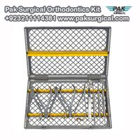 Pak Surgical Orthodontics Kit includes the most commem pliers and instruments. thumbnail image