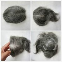 "Hot selling toupee for stock,for men' hair with 8""-10"""