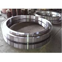 Heat Treatment Heavy Duty DIN JIS Forged Steel Rings 06Cr19Ni10 For Hydraulic Machinery
