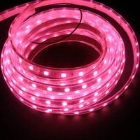 3 years warranty, 12v 60leds RGB 5050 3M tape backside strip light