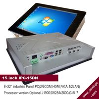 15 Inch industrial All in One Touch Screen PC (IPC-15DN)